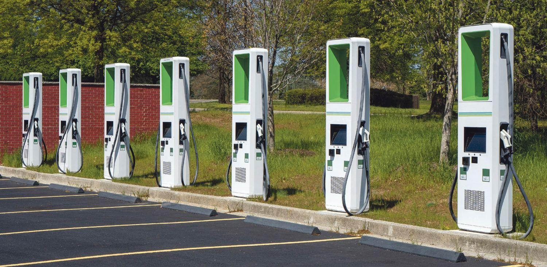 Ladesäulen für Elektrofahrzeuge