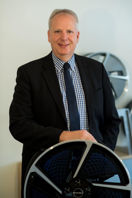 Porträt von Klaus Jürgens, Entwicklungsleiter beim Leichtmetallradhersteller Borbet GmbH